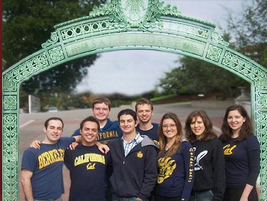 Students at Cal